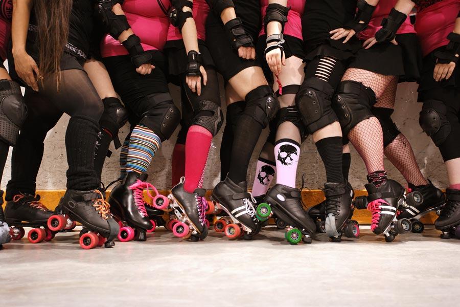 Ladies Roller Derby