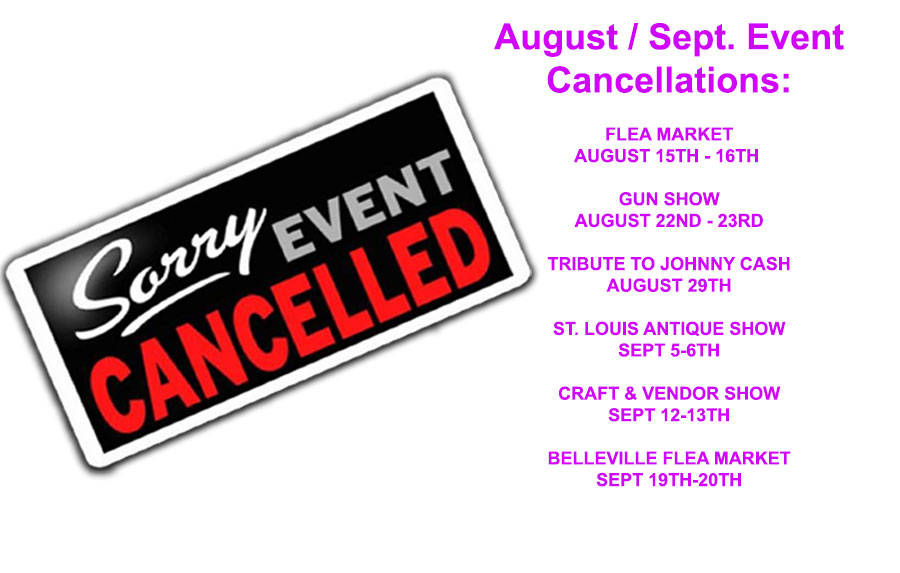"""""""Belle Clair Fairgrounds Event Cancellations Due to Covid-19"""""""