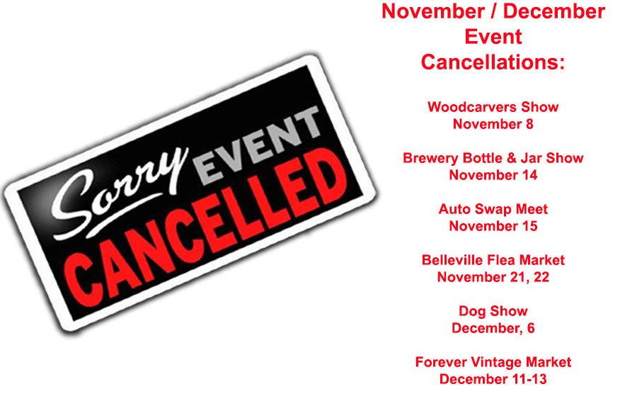 """Belle Clair Fairgrounds Event Cancellations Due to Covid-19"""